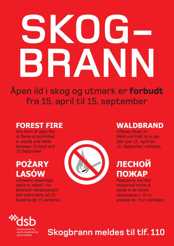 skogbrannplakat